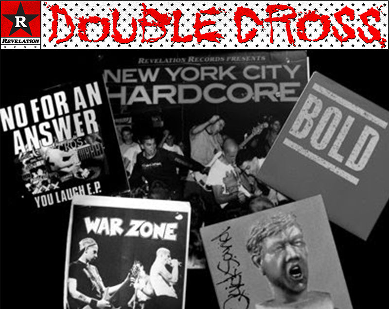 Double Cross Early Revelation Records Vinyl Collage
