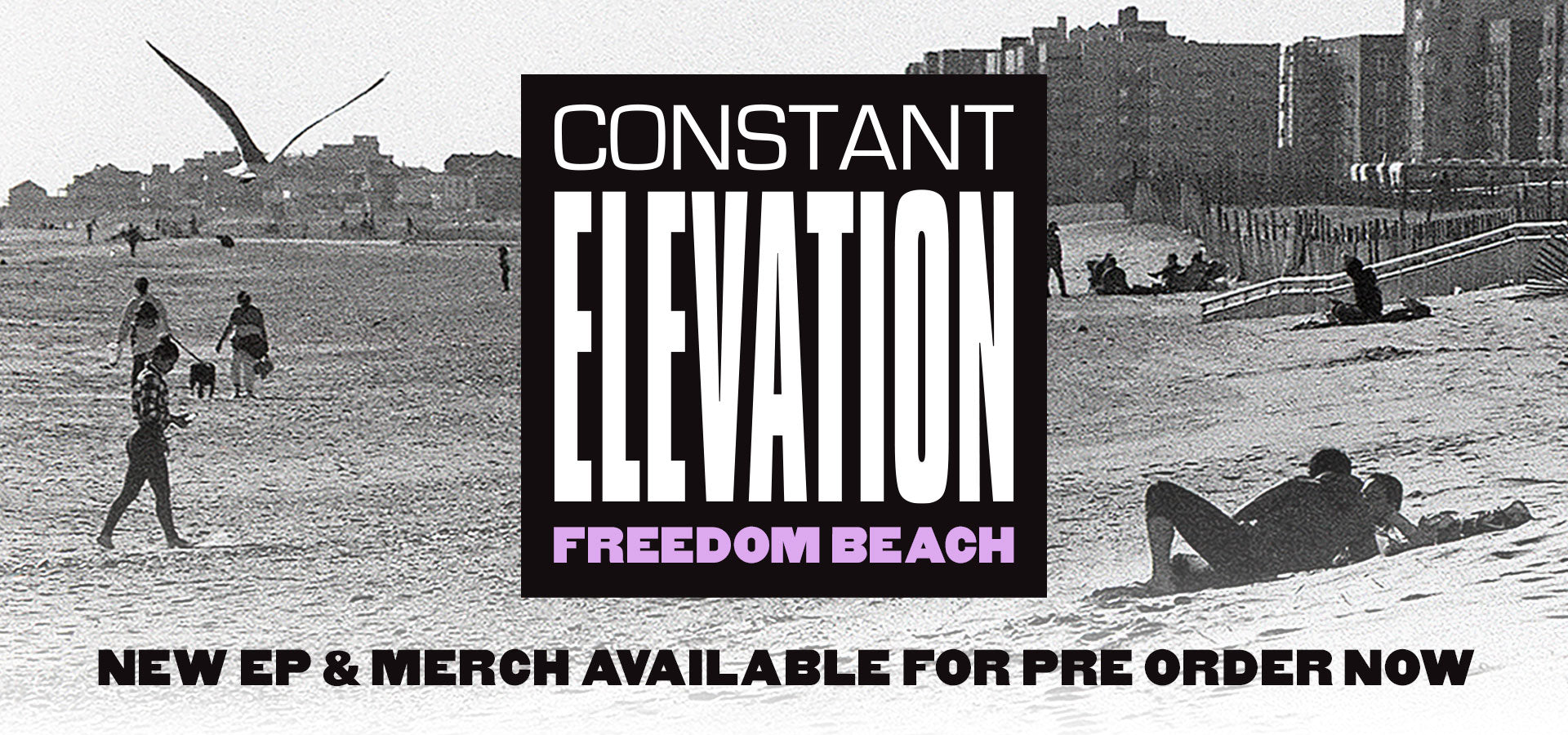 "Constant Elevtaion ""Freedom Beach"" Pre-Order Banner"