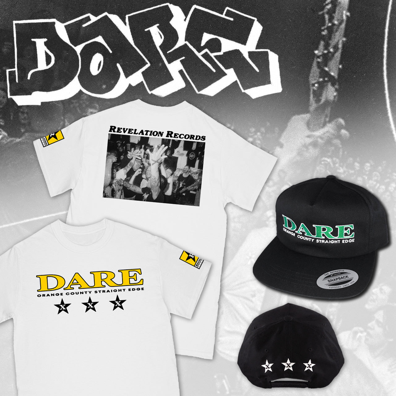 DARE SHIRT AND HAT