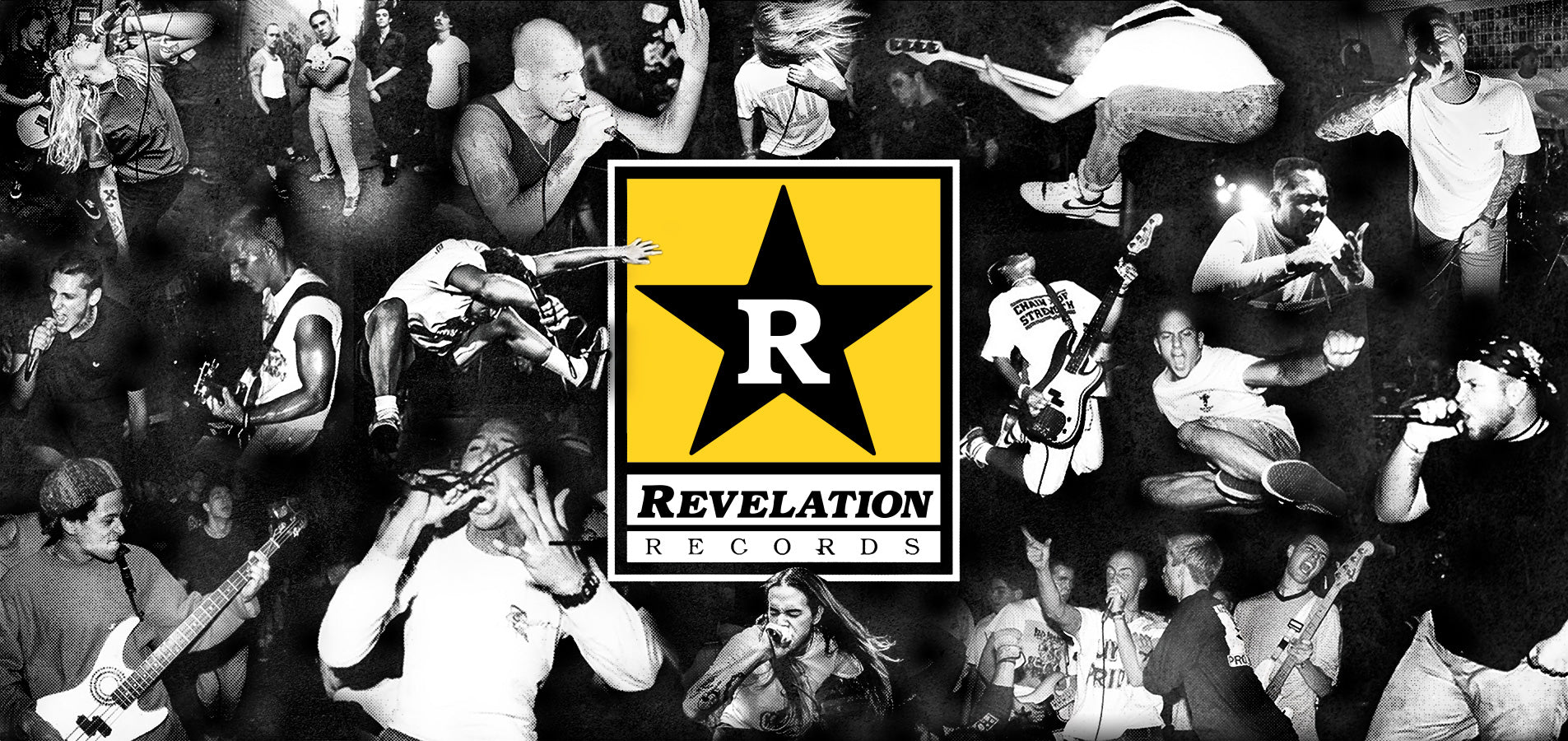 Revelation Records Banner Live Photo Collage