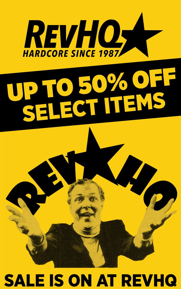 Crazy Eddie RevHQ Sale. Up to 50% Off Select Items