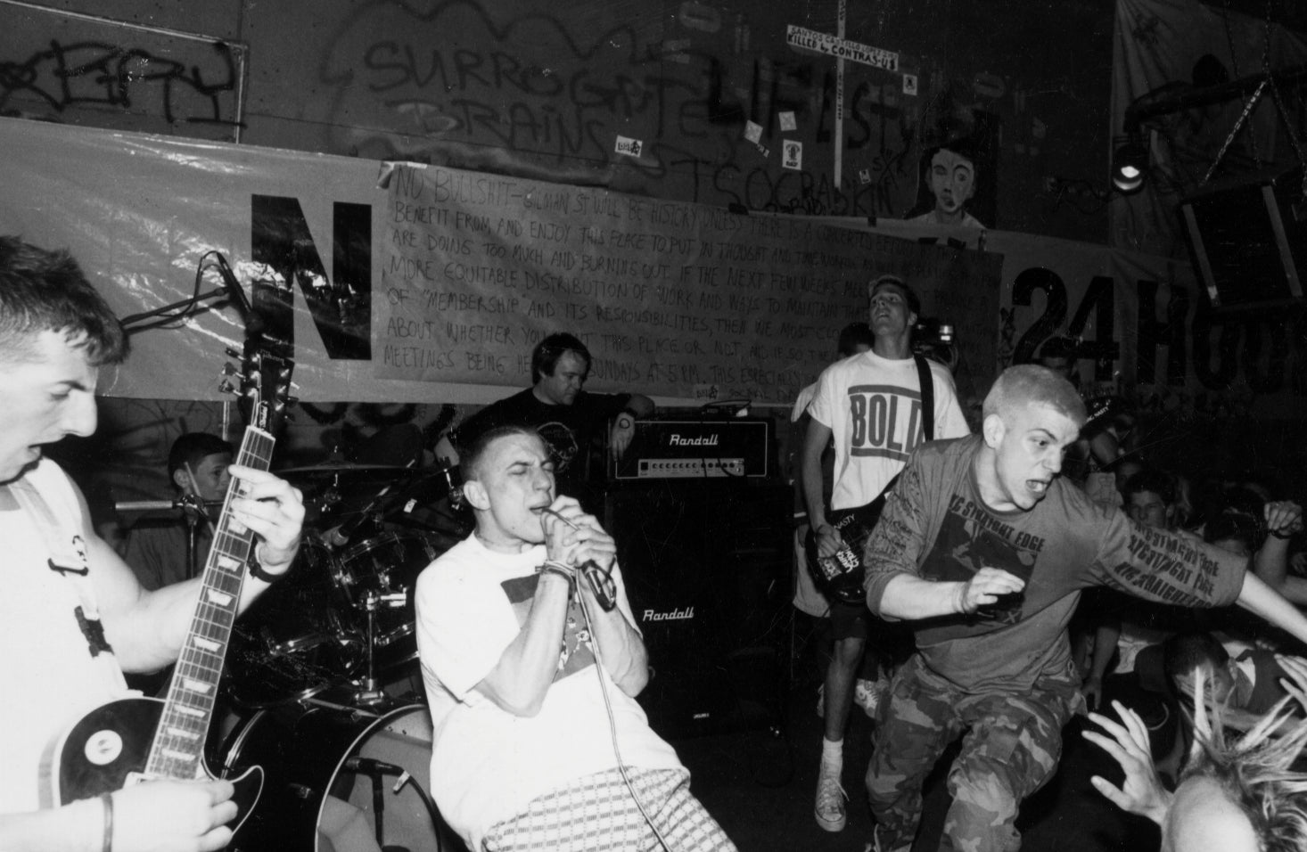 Youth Of Today Live in 1989 Photograph
