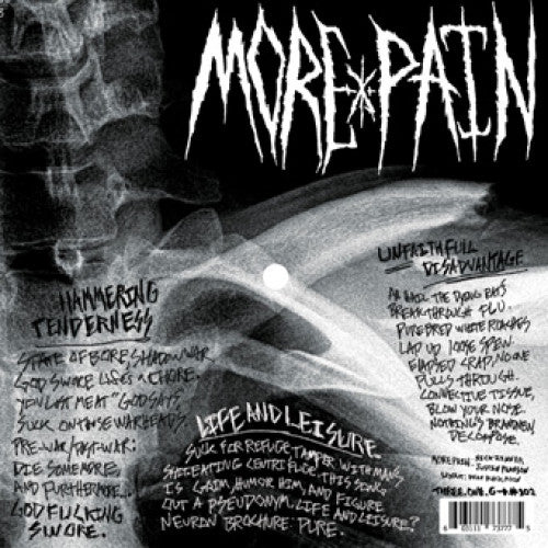 "31G102-1 More Pain ""s/t"" 7"" Flexi Disc Album Artwork"