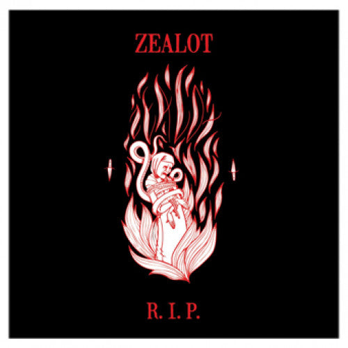 "31G104-1 Zealot R.I.P. ""s/t"" 12""ep Album Artwork"