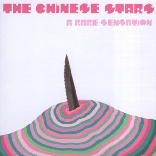 "31G41-2 The Chinese Stars ""A Rare Sensation"" CD Album Artwork"