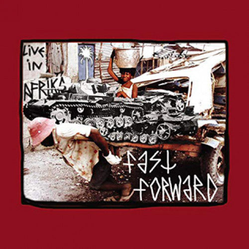 "31G42-1/2 Fast Forward / T Cells ""Split"" LP/CD Album Artwork"