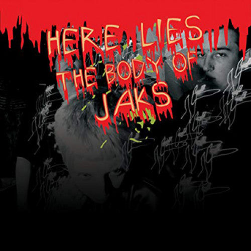 "31G43-2 Jaks ""Here Lies The Body Of Jaks"" CD Album Artwork"