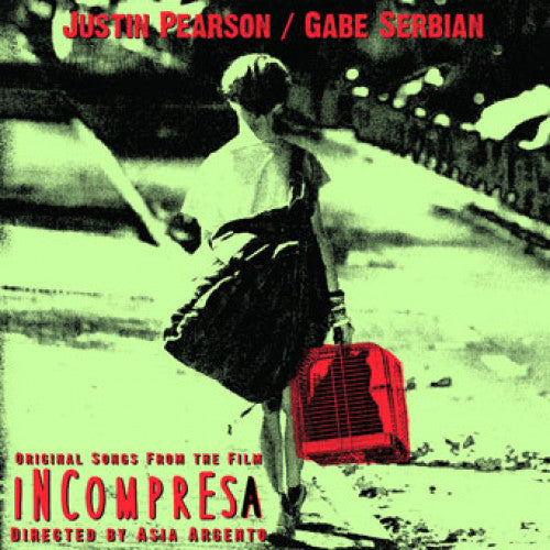 "31G80-1 Justin Pearson / Gabe Serbian ""Incompresa"" 7"" Album Artwork"