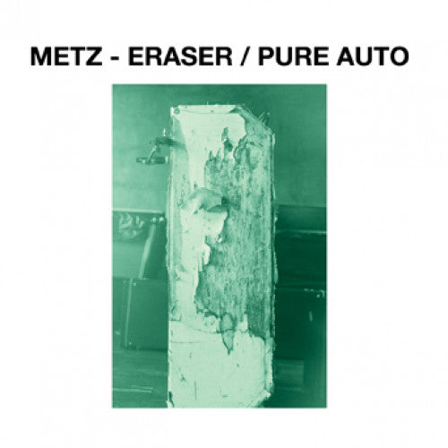 "31G82-1 Metz ""Eraser b/w Pure Auto"" 7"" Album Artwork"