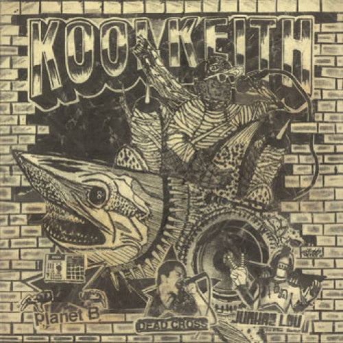 "31G99-1 Kool Keith ""Blast"" 7"" Album Artwork"