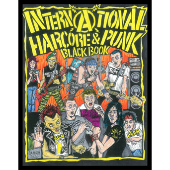 "Freddy Alva ""International Hardcore & Punk Black Book"" - Fanzine"