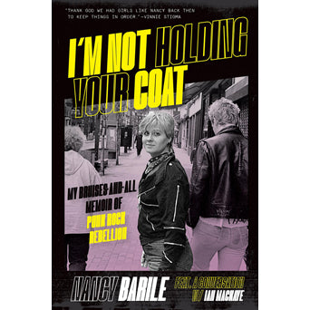 "Nancy Barile ""I'm Not Holding Your Coat"" - Book"