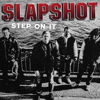 "BBR076-1 Slapshot ""Step On It"" LP Album Artwork"