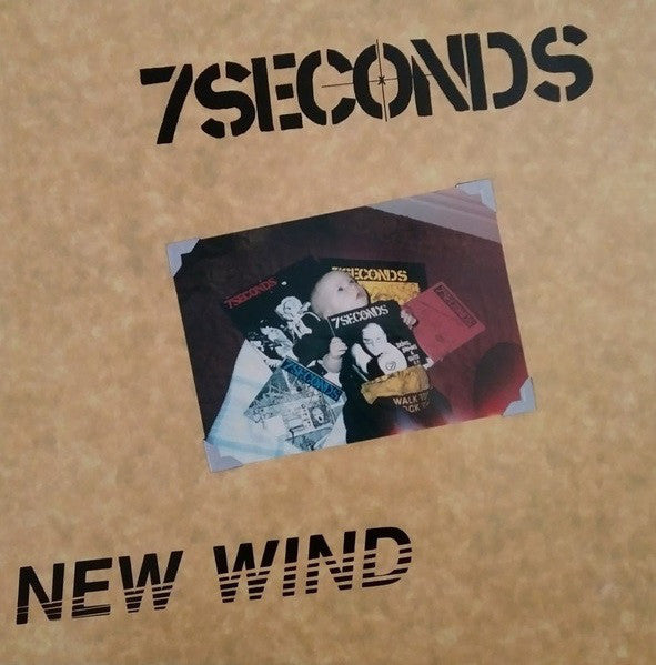 "BYO014-1 7 Seconds ""New Wind"" LP Album Artwork"