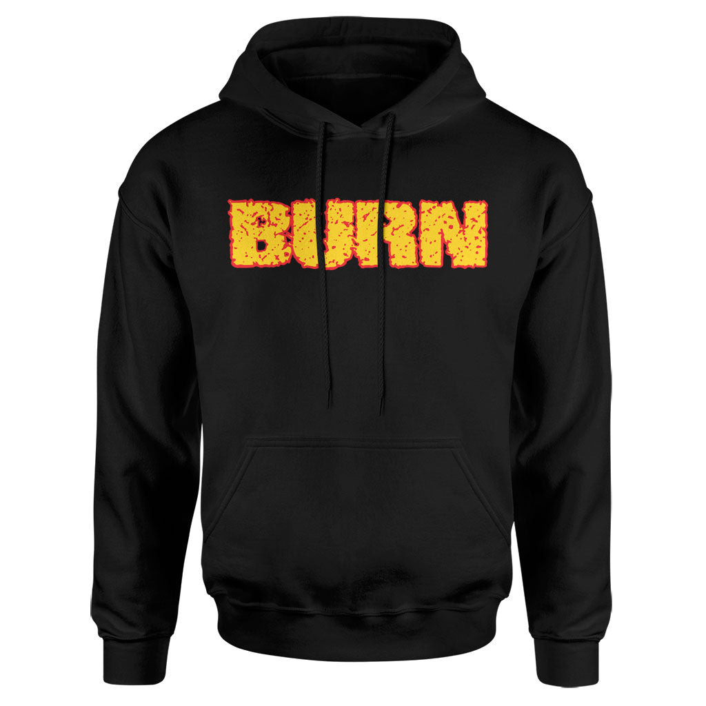 "Burn ""Shall Be Judged"" - Hooded Sweatshirt"