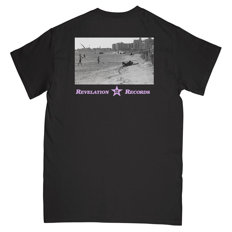 "REVSS183 Constant Elevation ""Freedom Beach (Black)"" - T-Shirt Front"