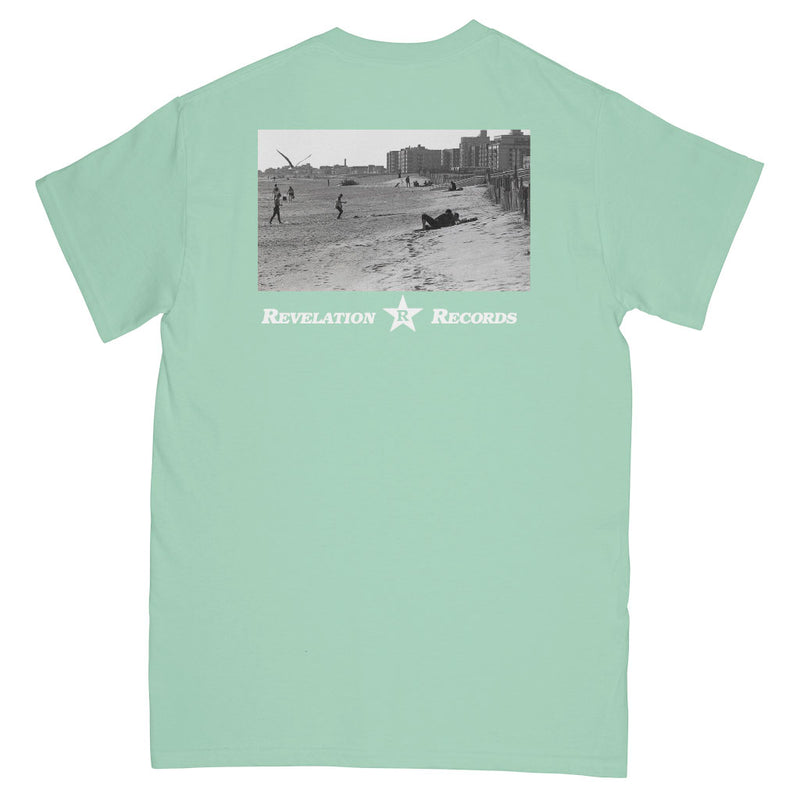 "REVSS183 Constant Elevation ""Freedom Beach (Mint Green)"" - T-Shirt Front"