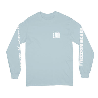 "REVLS183A Constant Elevation ""Freedom Beach (Powder Blue)"" - Long Sleeve"