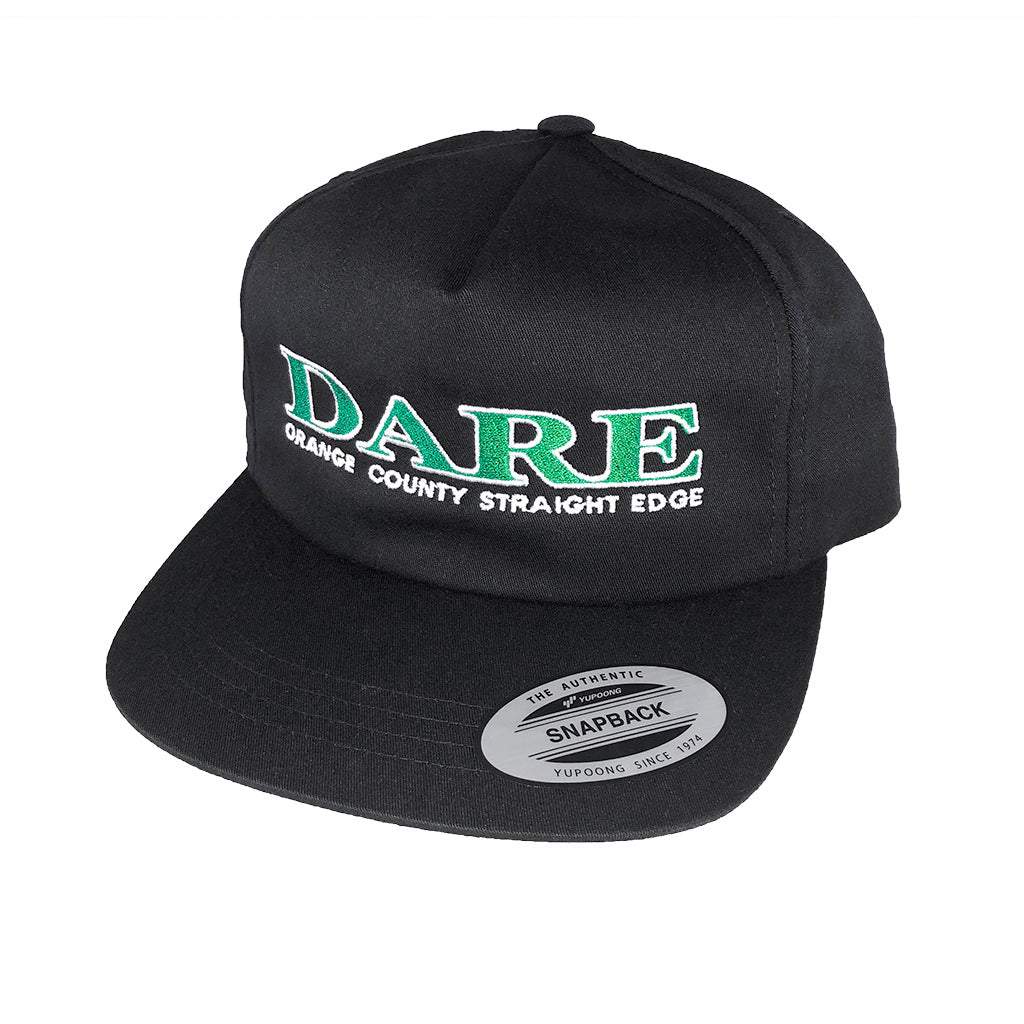 "Dare ""Orange County Straight Edge"" - Snapback Hat"