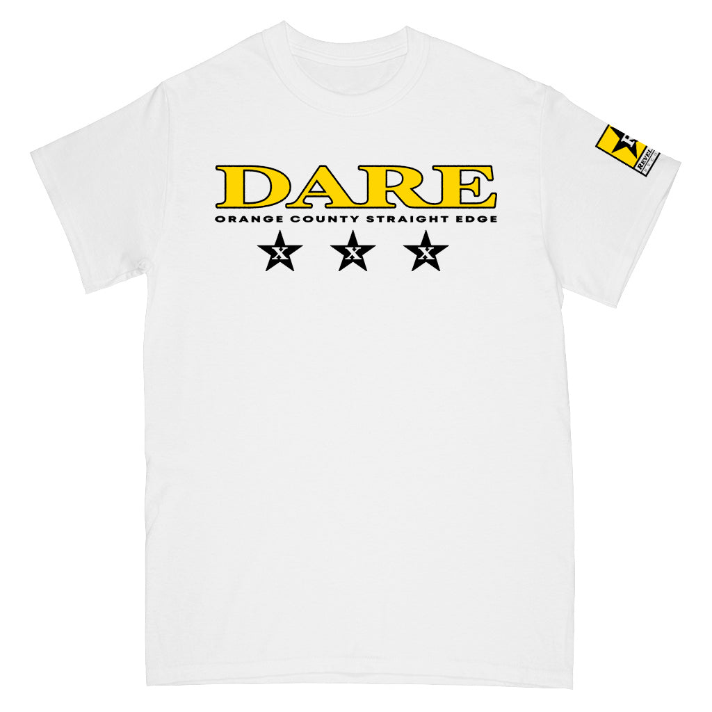 "Dare ""Orange County Straight Edge"" - T-Shirt"