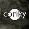 "DIS190 Coriky ""s/t"" CD/LP Album Artwork"
