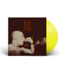 "DVR003-1 108 ""Curse Of Instinct"" LP Yellow Mockup"