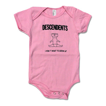 "Descendents ""I Don't Want To Grow Up"" - Baby Onesie"