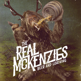 "FAT138 The Real McKenzies ""Beer And Loathing"" Album Artwork"