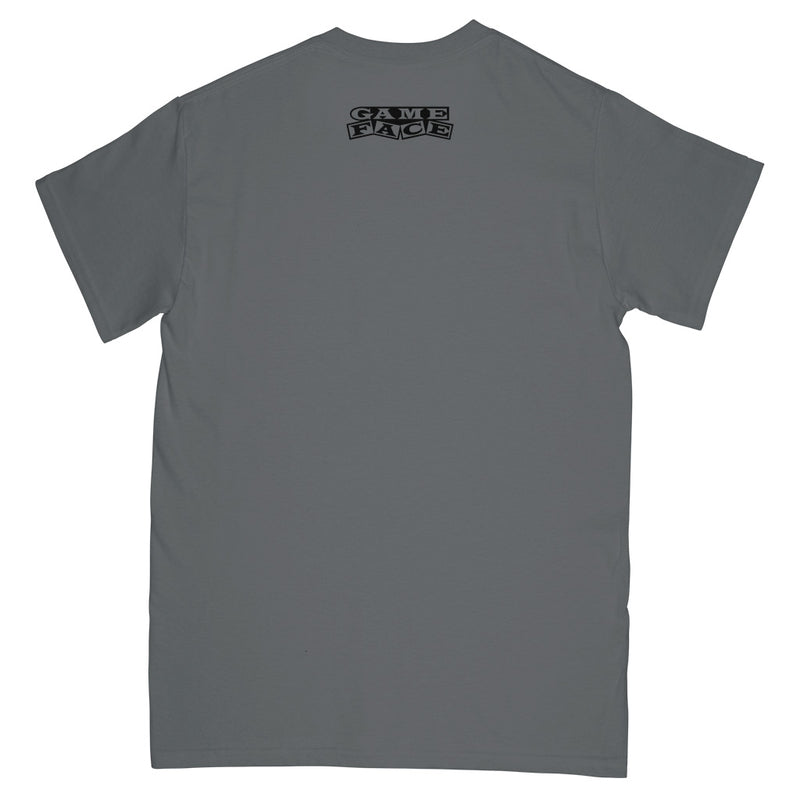 "REVSS99A Gameface ""Unpunk (Grey)"" -  T-Shirt Front"