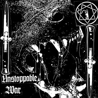 "Blind To Faith ""Unstoppable War"" LP Album Artwork"