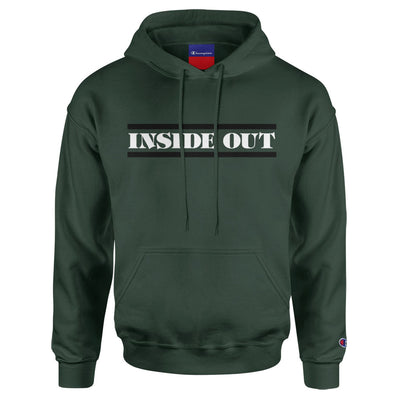 "Inside Out ""No Spiritual Surrender (Champion Brand/Green)"" - Hooded Sweatshirt"