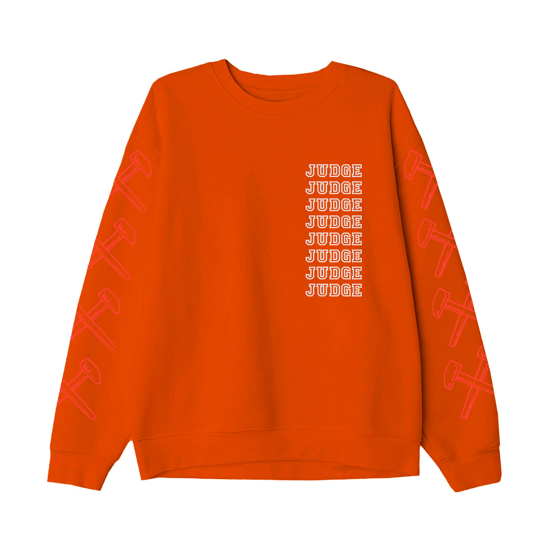 "Judge ""New York Crew (Orange)"" - Crew Sweatshirt"