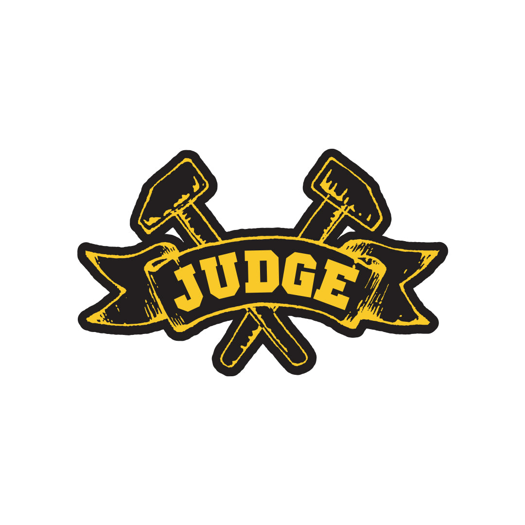 "Judge ""Logo"" - Sticker"