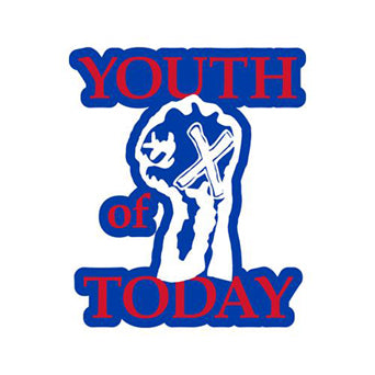 "Youth Of Today ""Fist (Die Cut)"" -  Sticker"
