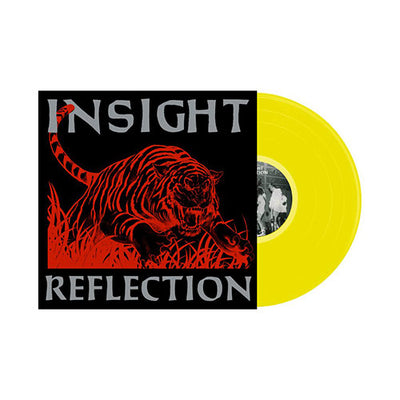 "MTR001 Insight ""Reflection"" LP - Yellow Mockup"