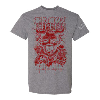"Crow Killer ""A Darkness Above All"" - T-Shirt"