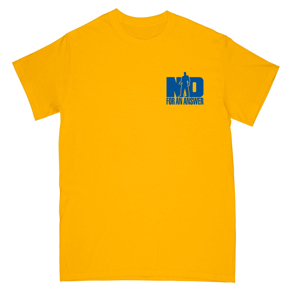 "No For An Answer ""Orange County Hardcore (Gold)"" - T-Shirt"