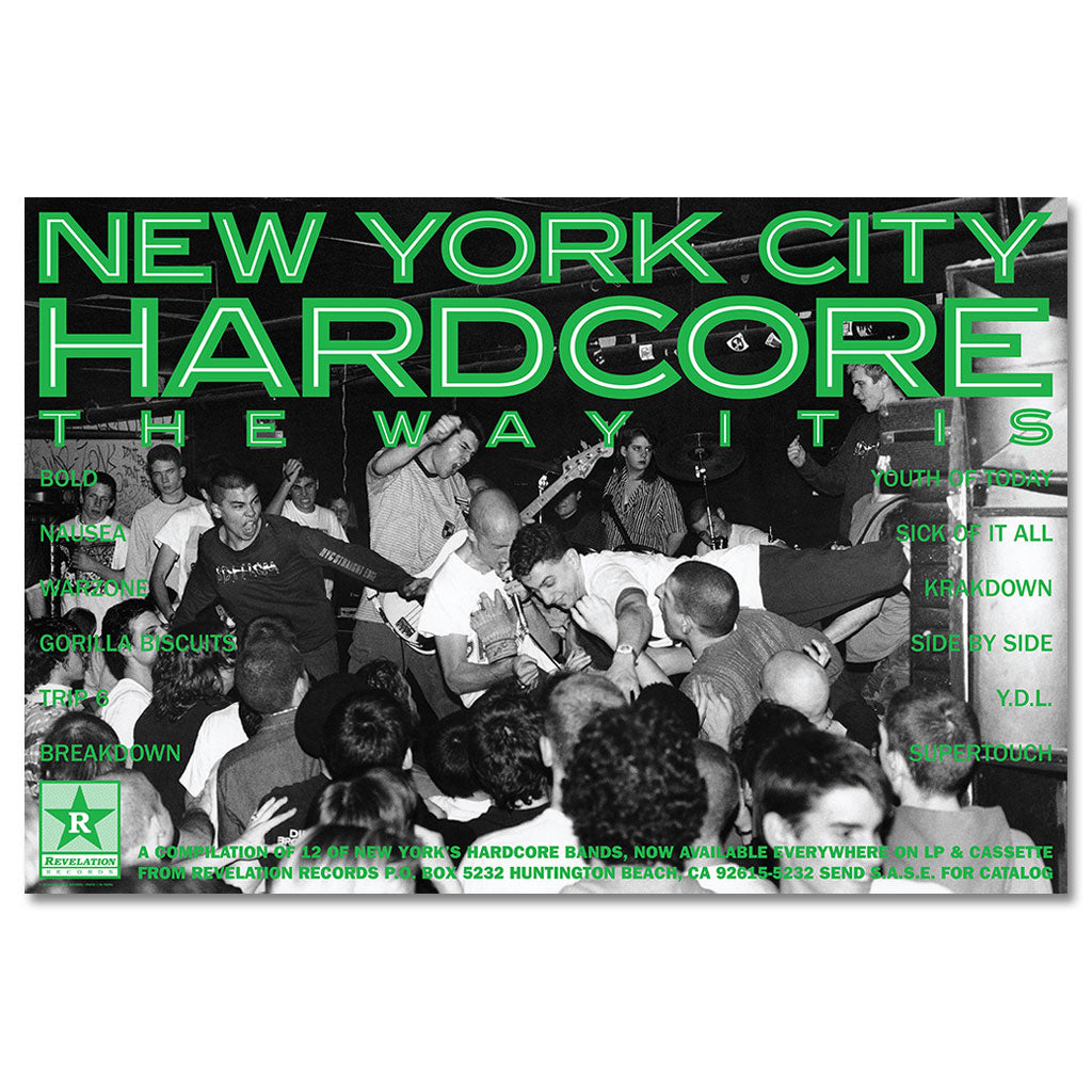 "V/A ""New York City Hardcore: The Way It Is"" - Poster"