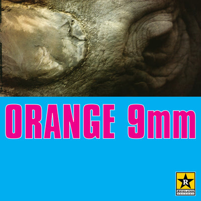"REV031-1 Orange 9mm ""s/t"" 12""ep Album Artwork"
