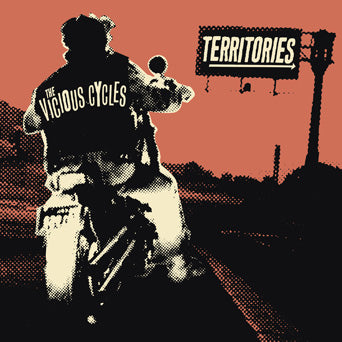 "PIR264-1 Territories / The Vicious Cycles ""Split"" 7"" Album Artwork"