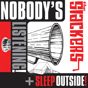 "The Slackers ""Nobody's Listening b/w Sleep Outside"""