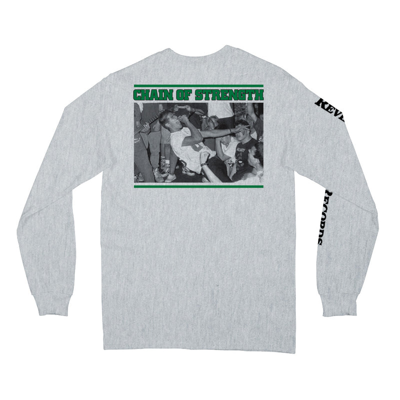 "REVLS29S Chain Of Strength ""The One Thing That Still Holds True"" - Long Sleeve Front"