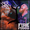 "PZ008-1 Sick Minds / Fire & Floods ""Split"" LP Album Artwork"