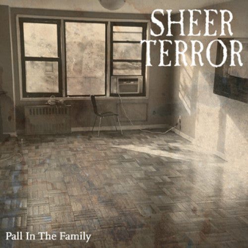 "REAP082A-1 Sheer Terror ""Pall In The Family"" 7"" Album Artwork"