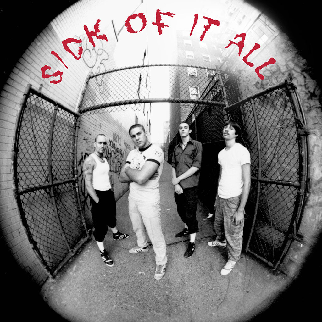 "REV003-1 Sick Of It All ""s/t"" 7"" Album Artwork"