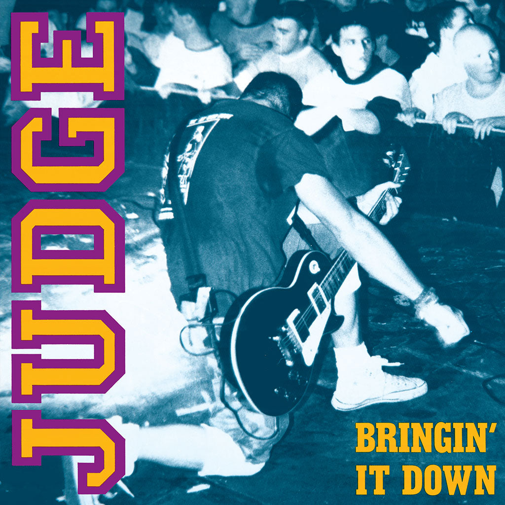 "REV015  Judge ""Bringin' It Down""LP/Cassette Album Artwork"