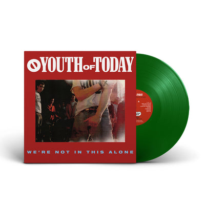 "REV059-1 Youth Of Today ""We're Not In This Alone"" LP"