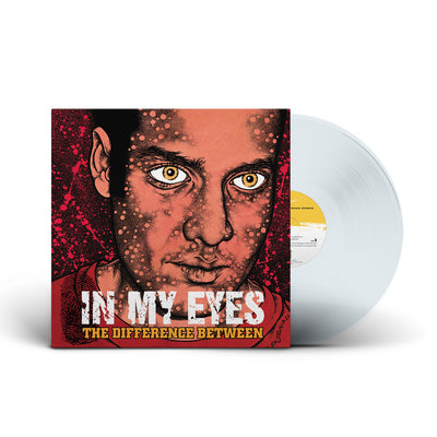"REV067-1 In My Eyes ""The Difference Between""  LP - Clear Mockup"