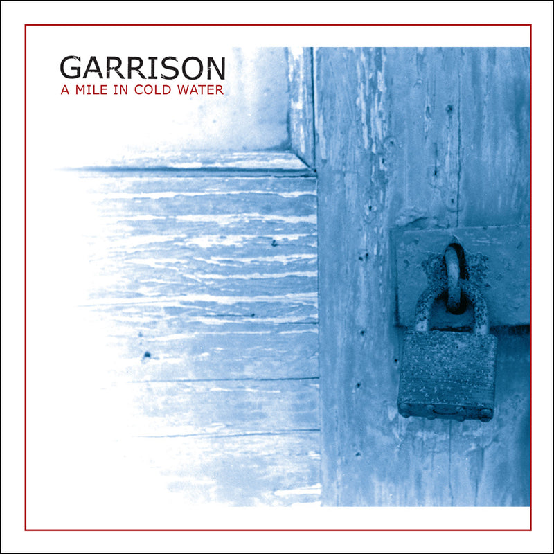 "REV093-2 Garrison ""A Mile in Cold Water"" CD Album Artwork"