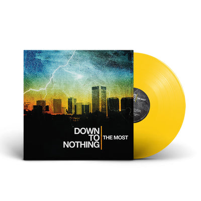 "REV141-2 Down To Nothing ""The Most"" CD Album Artwork"